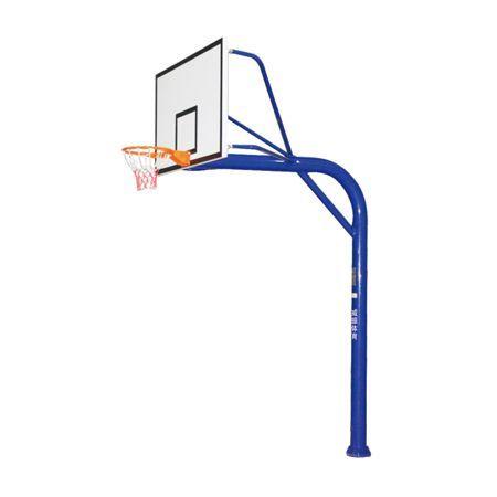 地埋圆管篮球架 LW-008