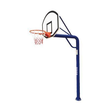 小型地埋圆管篮球架 LW-008-1