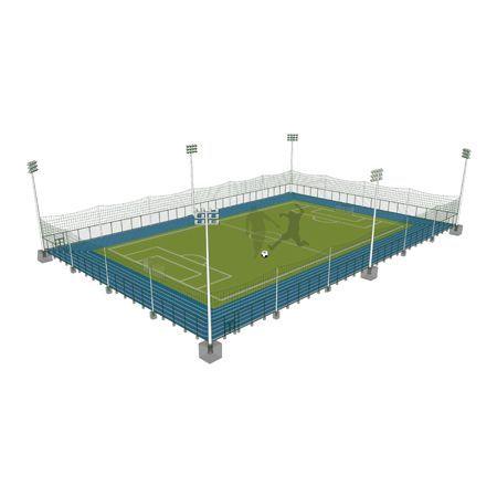 标准足球场组合式围网解决方案