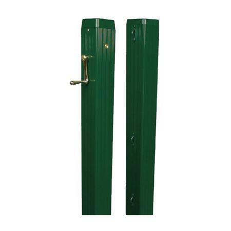 标准版方形铝合金网柱